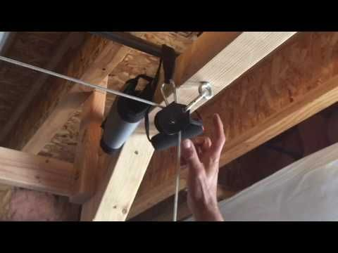 Diy Power Rack Cable Pulley System Youtube Fitness