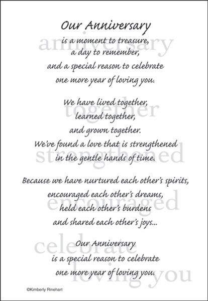 A Poem For A Page Collection Our Anniversary 5 X 7 Scrapbook Sticker Sheet By It Takes Two Happy Anniversary To My Husband Anniversary Quotes For Couple Happy Anniversary Quotes