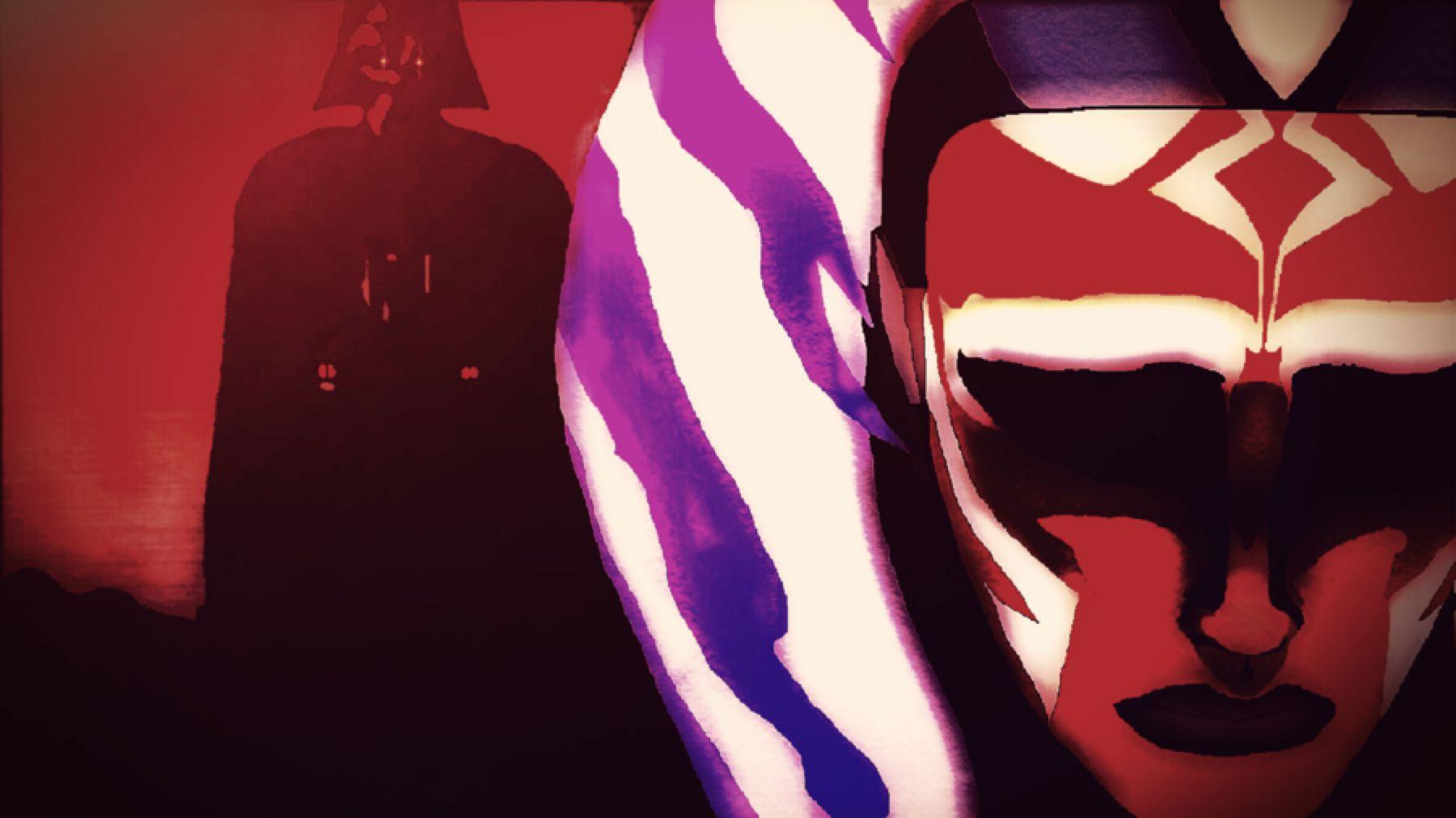 Twilight of the Apprentice Darth Vader & Ahsoka Tano Star