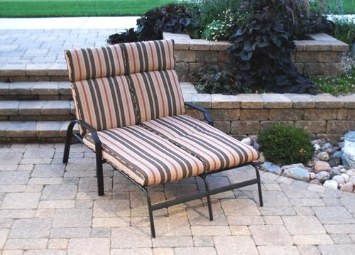 New Haven Double Chaise Lounge At Menards Garden