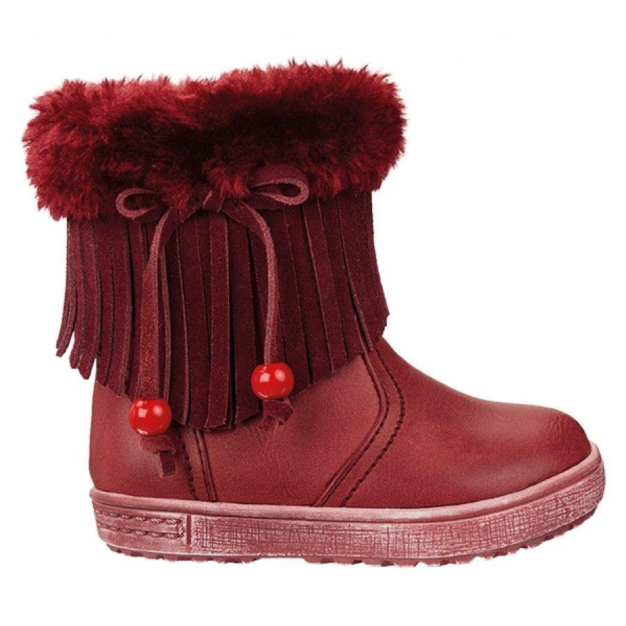 ac1f01ed8c0 Παιδικά Μποτάκια Fenecia 16041-Μπορντώ | www.happy-feet.gr | Shoes ...