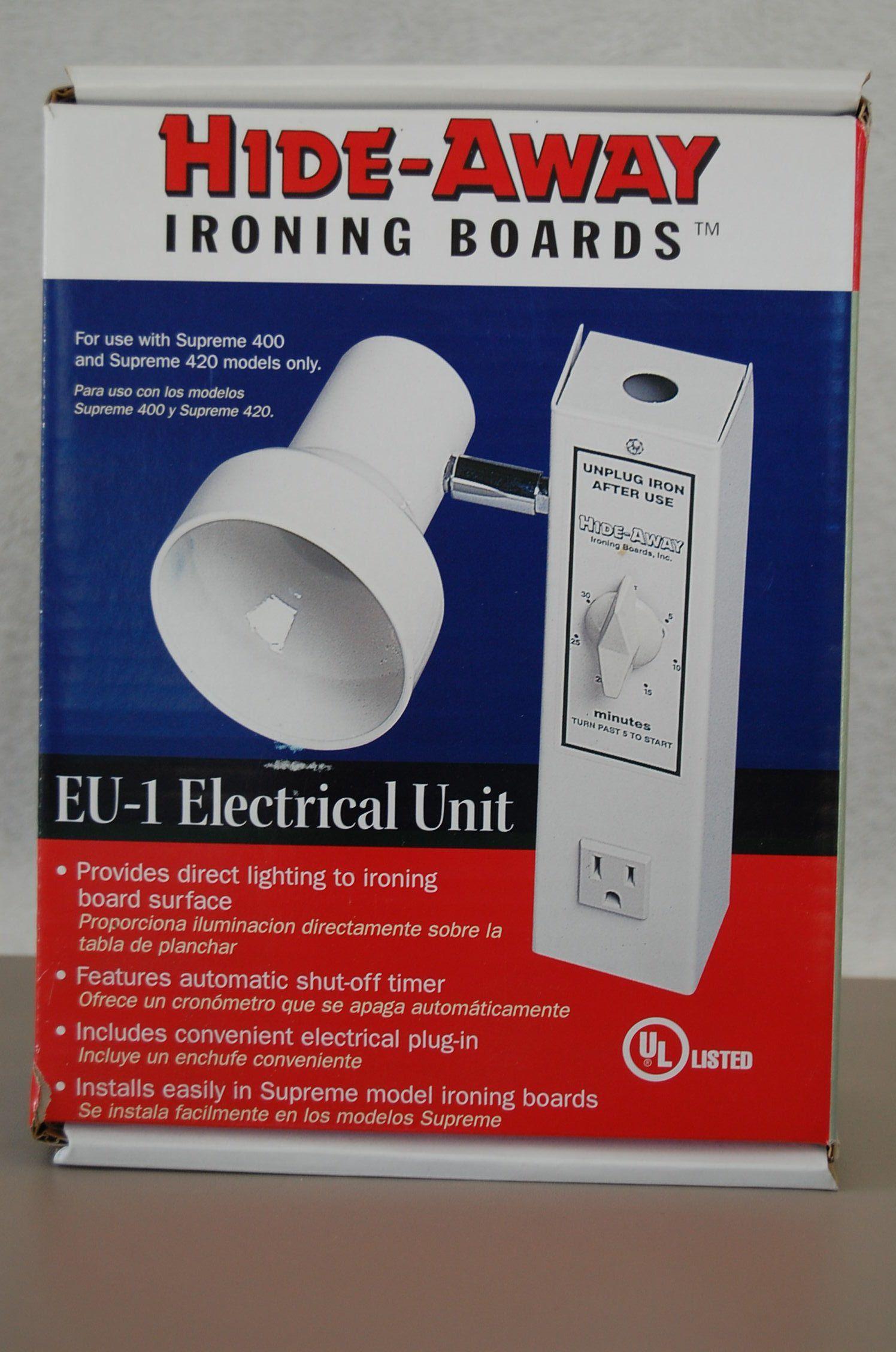 Hide Away Ironing Board Light In Durbincrossing S Garage Sale