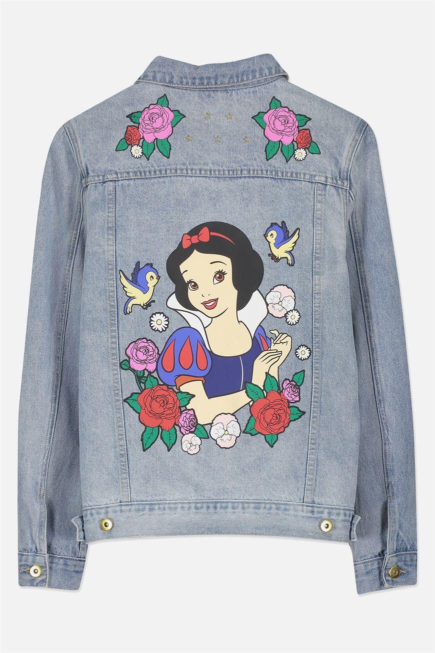 f3e98b8c27cf6 Typo Denim Jacket | J E A N S | Jackets, Denim, Snow white disney