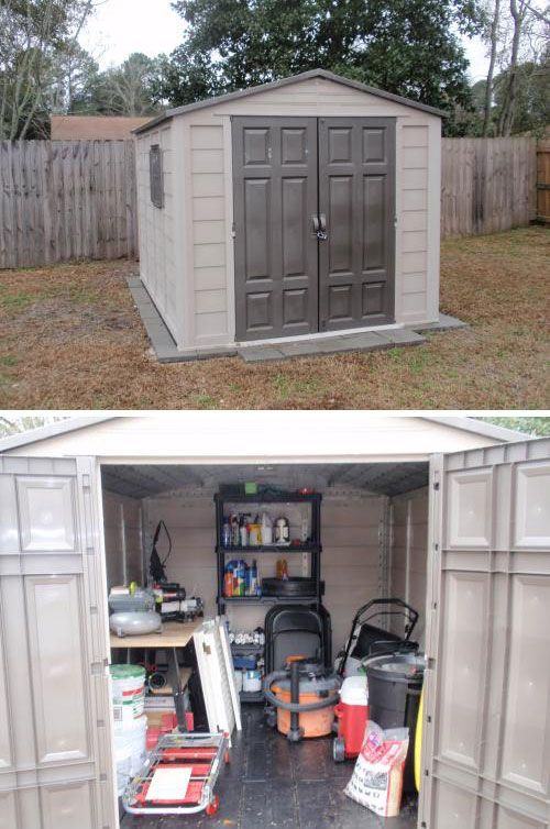 Pin By The Home Depot On Storage And Organization Outdoor Storage Sheds Shed Storage Shed