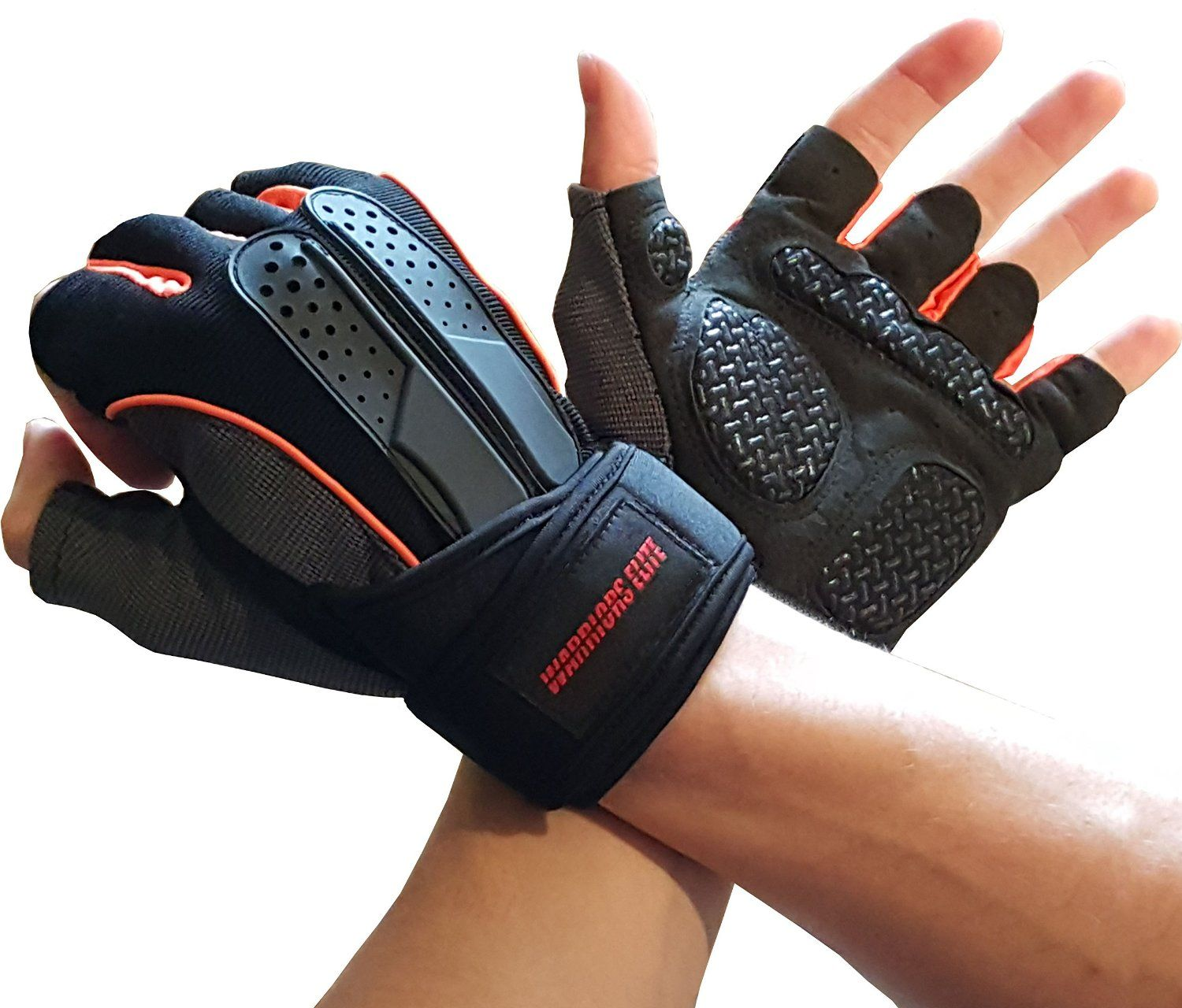 Reebok Strength Training Gloves Weight Lifting Fitness: Weight Lifting / Cross-Fit Gloves (Black