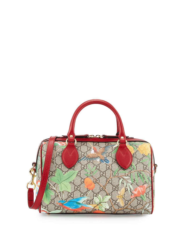 Gucci Tian Gg Supreme Small Top Handle Bag Multi Bags Gucci How To Make Handbags
