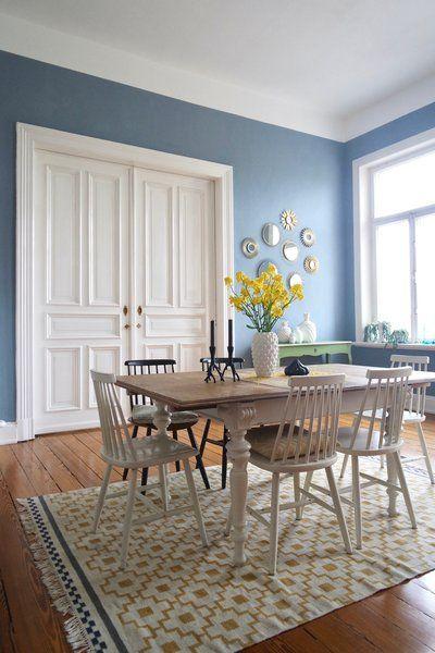 Neue Wandfarbe: Frühlingshaftes Hellblau