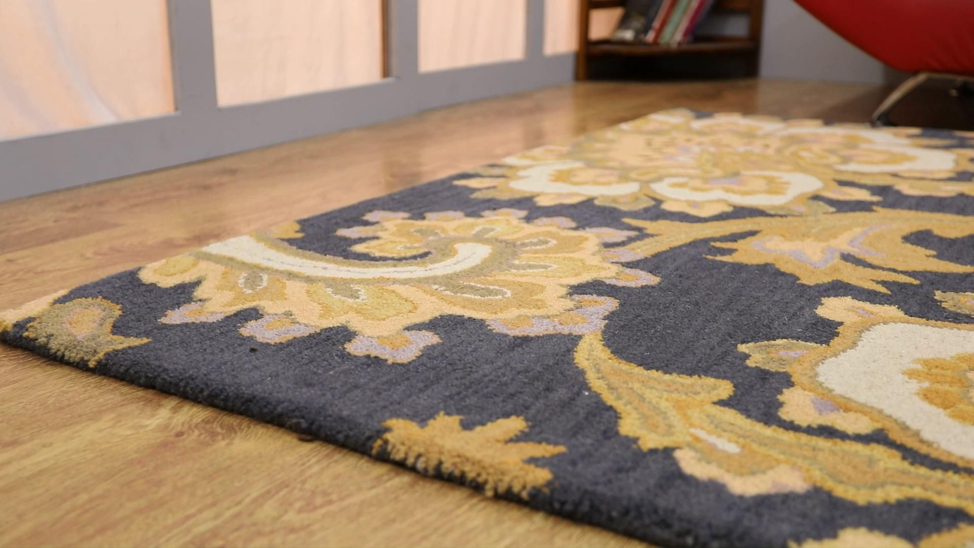 For those who praise the art and designs of the old centuries can buy this floral area rug for their home. Its ravishing and exclusive color scheme and traditional floral pattern will turn your house into a classical place. Its is beautifully designed by our artists through hand tufting gun and is given a fine texture and soft feel. You can cover every possible flooring of your home with this area rug. #arearug #AreaRugs #arearugcleaning #arearugsusa