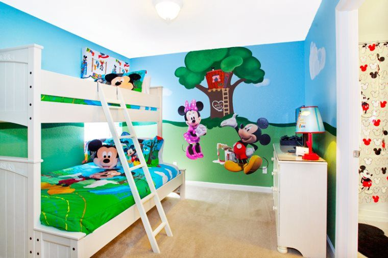 In The Vacation Home 7754 Teascone Blvd Kids Will Enjoy Spending Time With Mickey Mouse Clubhousemickey Roomkids