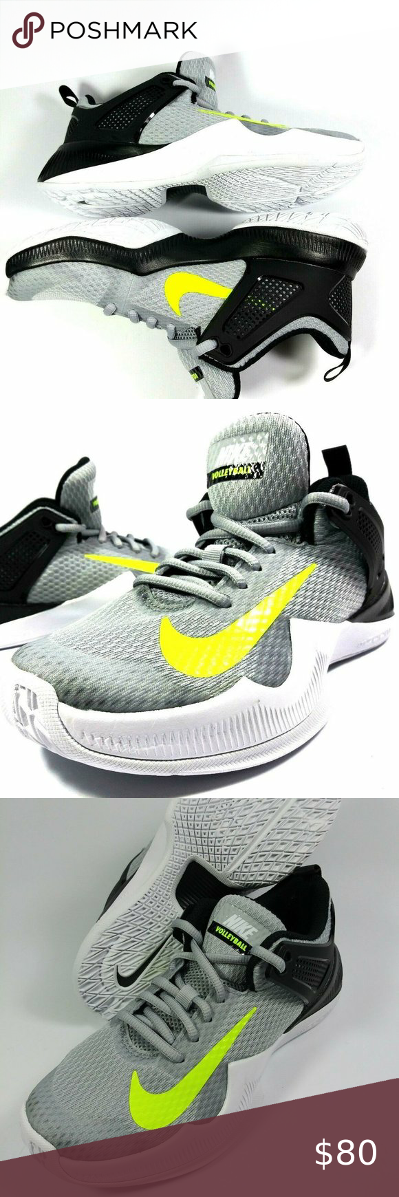 Nike Womens Sz 6 902367 007 Volleyball Shoes Nwt In 2020 Volleyball Shoes Nike Women Nike