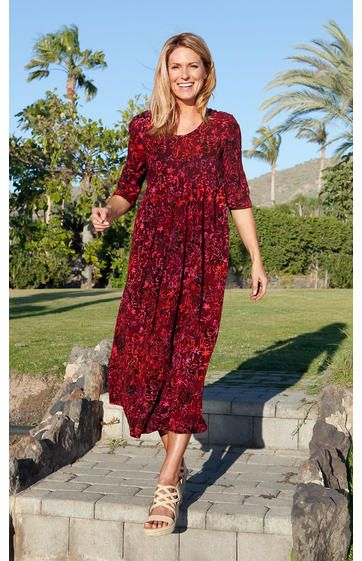 Viskose Kleid  Damenmode kleider, Mode, Damen mode