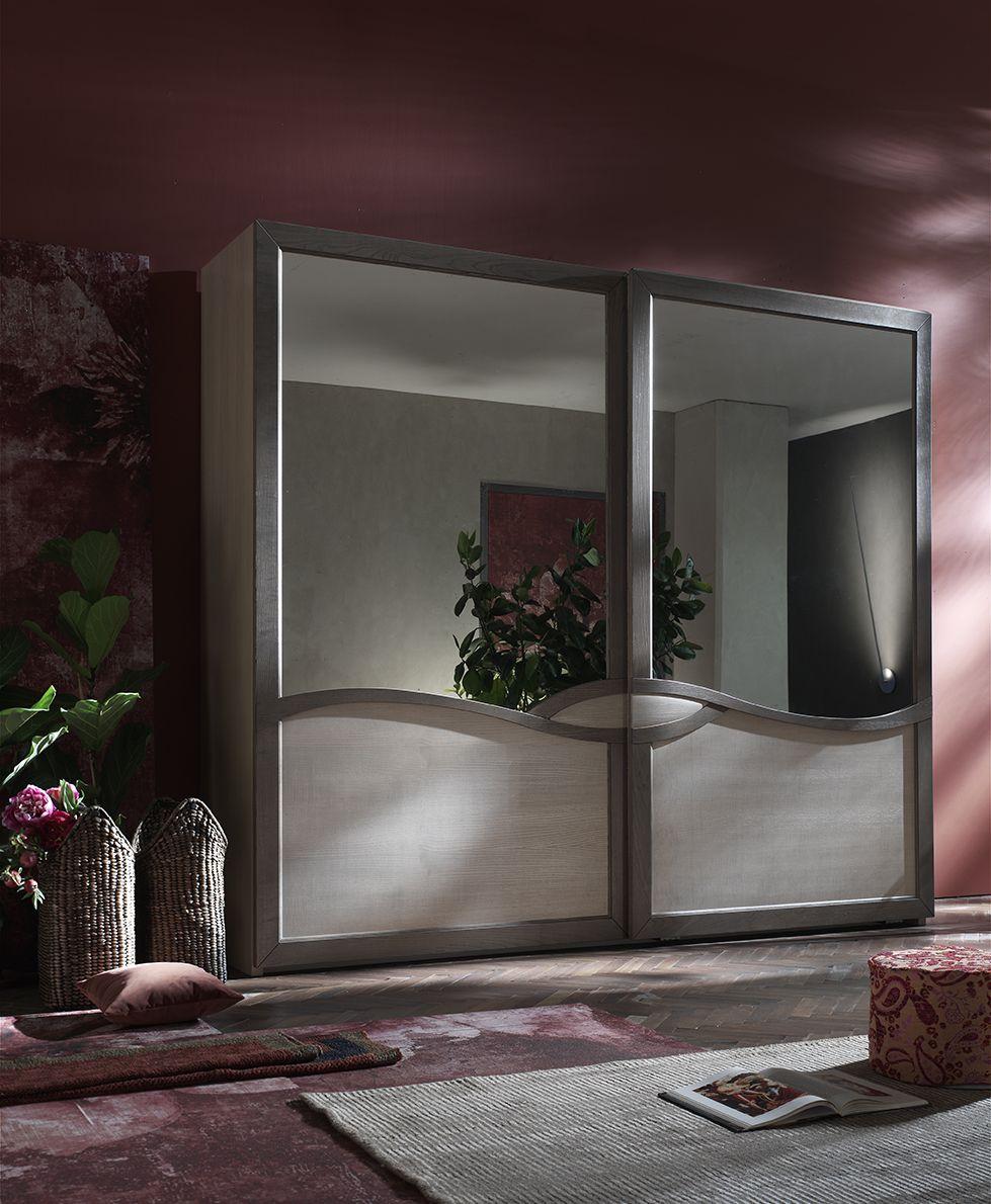 letto #camera #zonanotte #comfort #funzionale #tradizionale #legno ... - Armadio Tradizionale Montato