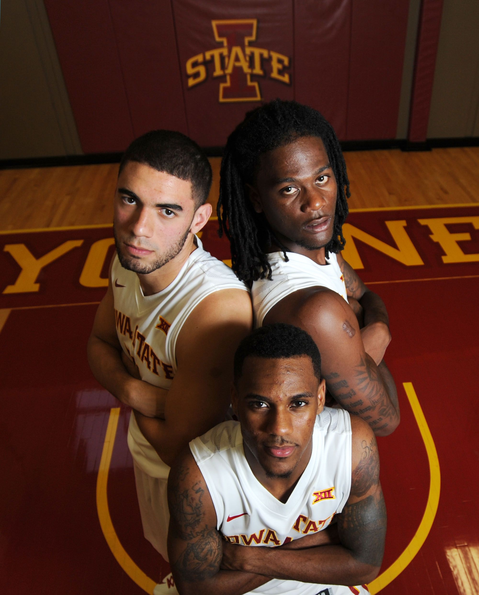 Iowa State S Jameel Mckay Top Right Joins Returning Starters