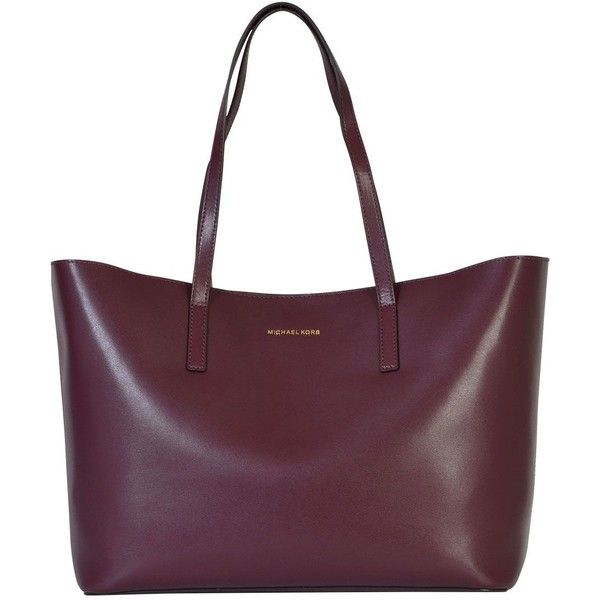 Emry Large Leather Bag ($256) ❤ liked on Polyvore featuring bags, handbags, shoulder bags, plum, womenbags, purple leather shoulder bag, purple leather purse, leather handbags, purple leather handbag and purple shoulder bag