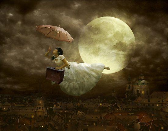 I do what I like, and I like what I do.  (Mary Poppins )  Illustrazione di Tyrza.