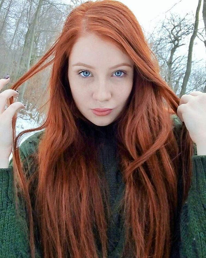 appealing red hairstyles women
