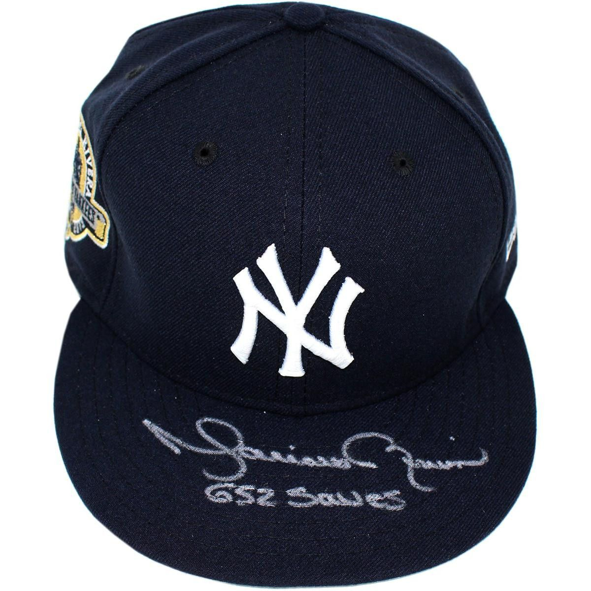 8dc171894ed ... mariano rivera signed new york yankees farewell hat sz 7 38 style 2