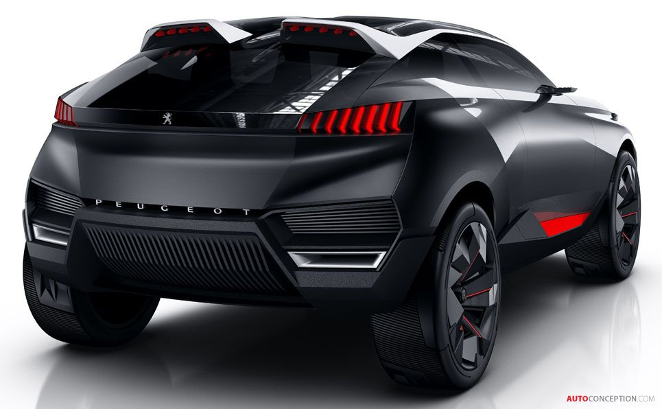Peugeot Reveals New Hybrid Suv Concept Autoconception Com