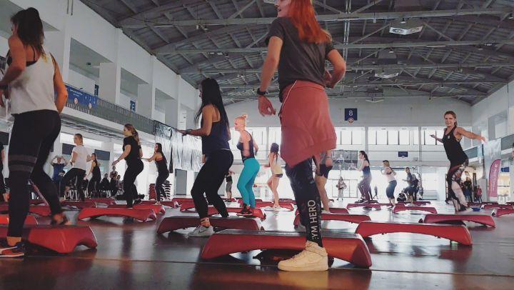 La meilleure classe Prawie wyszło @ meenoo69 # eu4ya #instruktor #fitness # eu4ya2019 ... - #classe...