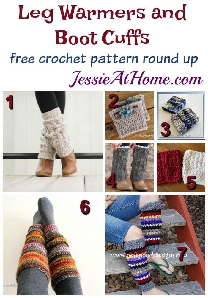 Crochet Leg Warmers and Boot Cuffs | crochet | Pinterest