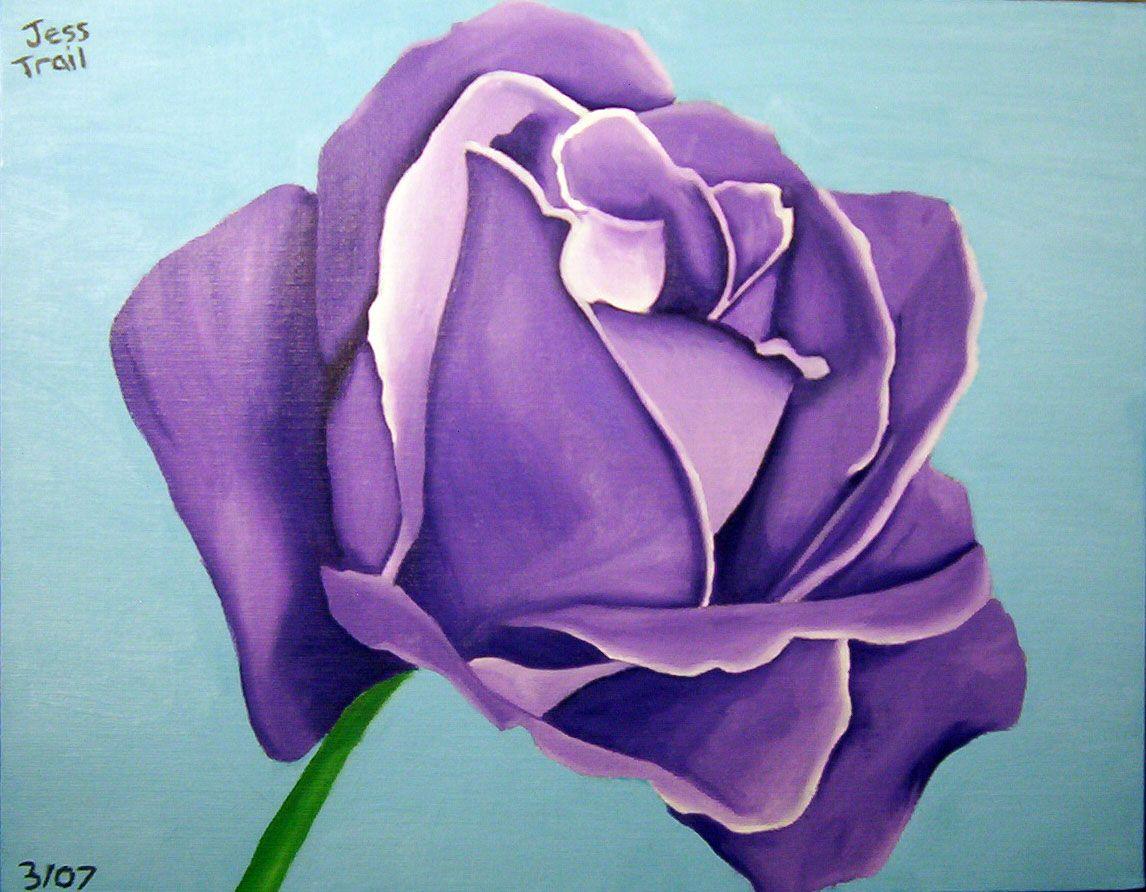 watercolor paintings of flowers | Flower Art: Flower Oil Paintings and Drawings