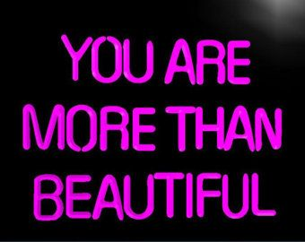 You are more than beautiful Neon Sign. Go purchase at https://www.etsy.com/shop/PrimeTimeFinesseCo?ref=shop_home_edit