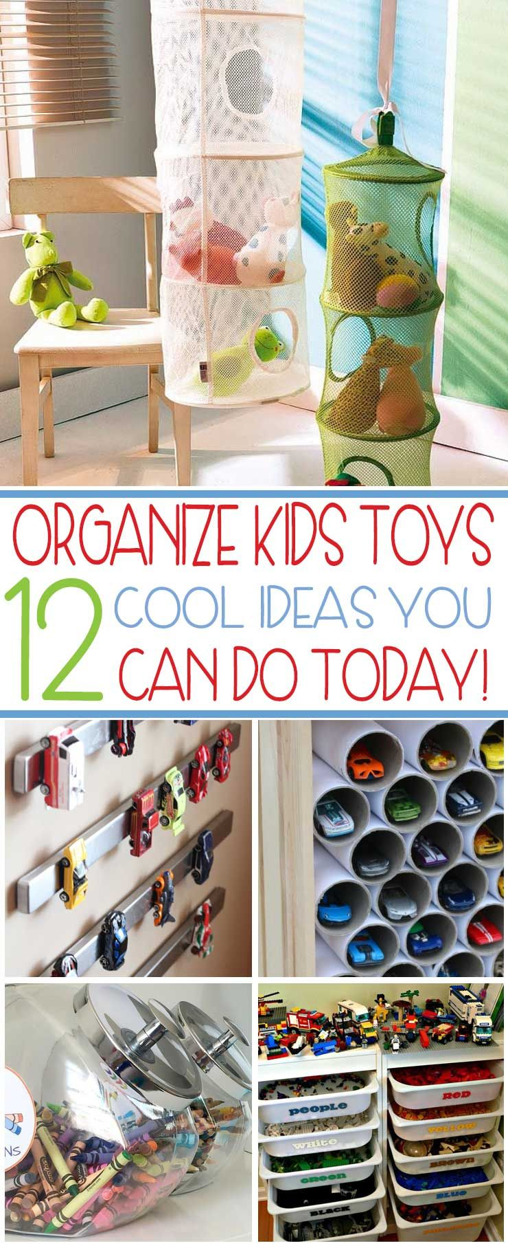 Organize Your Kids Toys Today With These 12 Cool Ideas Toy Room