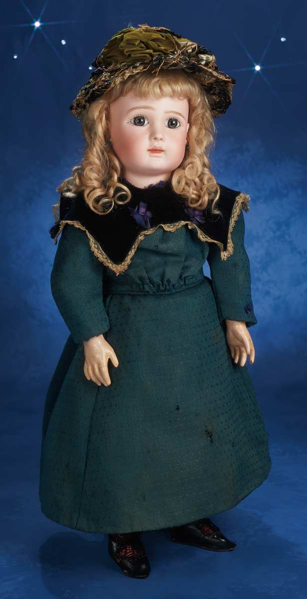 """Theriaults Antique Doll Auctions - 23"""" A 15 Steiner"""