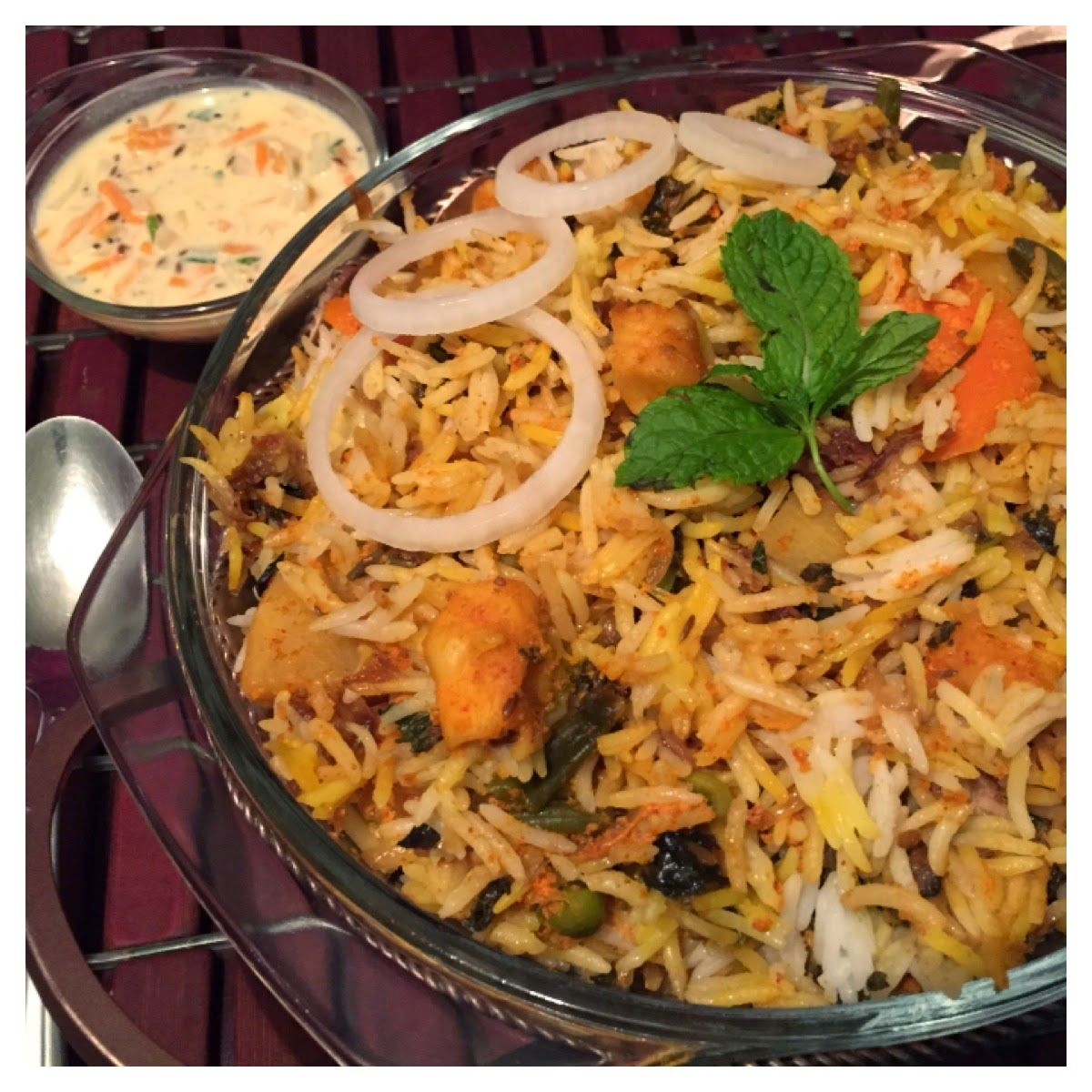 Vegetable Biriyani Vegetarian Crockpot Recipes Crockpot Indian Recipes Indian Food Recipes
