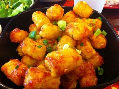 Spicy Tator Tots from Sakaya Kitchen... make you feel like a kid again. #yum #midtownmiami