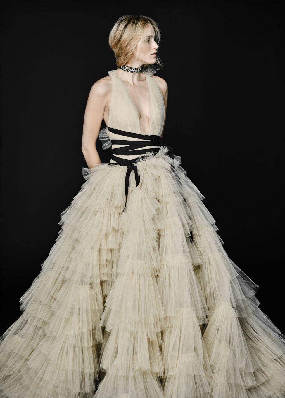 Gorgeous Goth Style Wedding Dresses