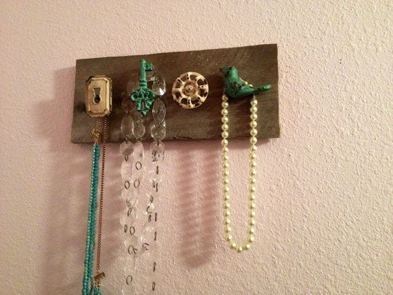 Knob Necklace Hanger Knob Jewelry Organizer Cabinet Knobs