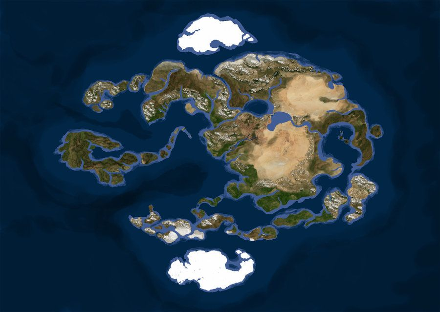 Realistic Avatar World Map by Gyorg1000 | Medieval Terrain ...