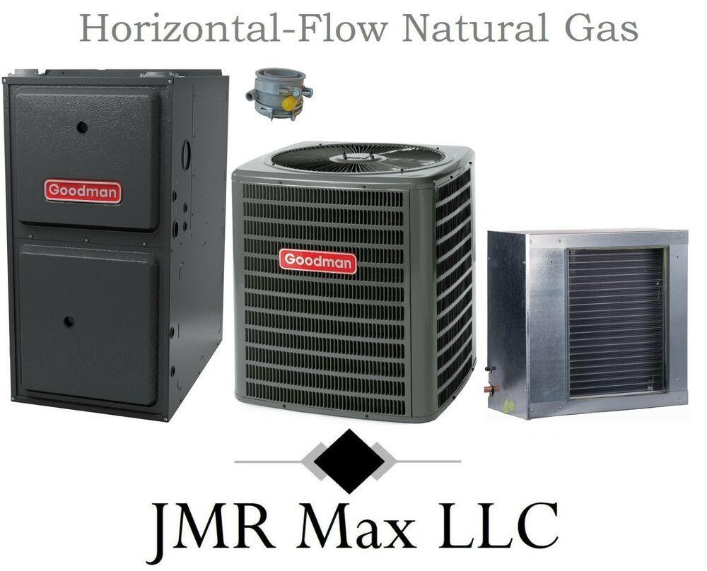 96 Hor Flow 100k Btu Natural Gas Furnace 3a Ton 13 Seer Ac Complete System 3 Natural Gas Furnace Gas Furnace Furnace