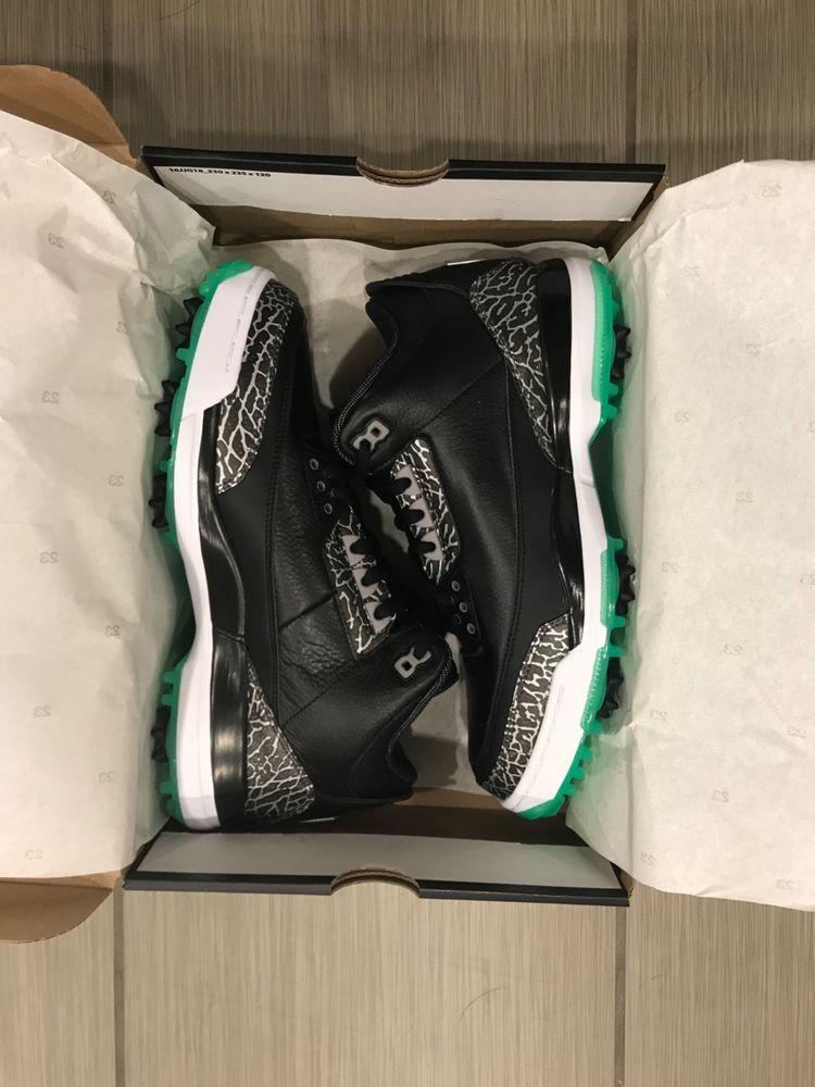 e411159703e3d air jordan 3 golf retro black neon green size 10 US  fashion  clothing   shoes  accessories  mensshoes  athleticshoes (ebay link)