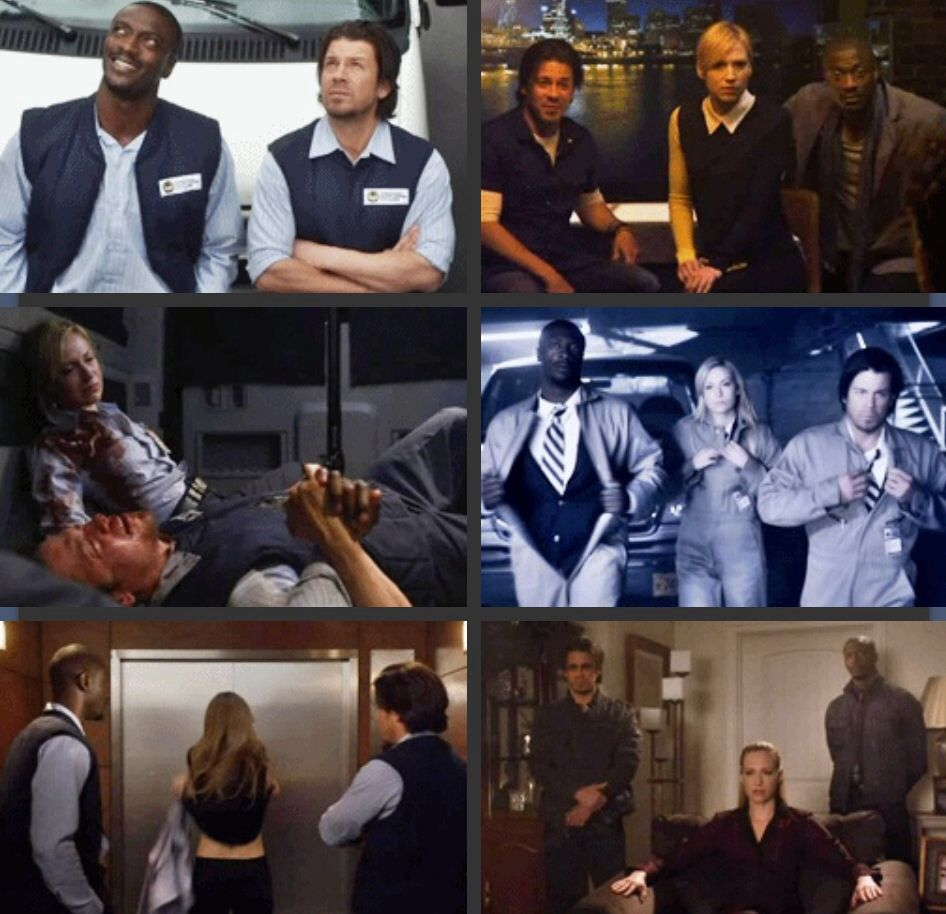 Eliot Parker And Hardison Best Tv Shows Tv Shows Actors