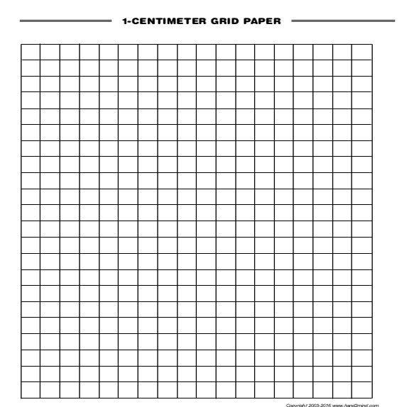 Inspiration Hut Grid Paper: Printable Graph Paper, Graph Paper