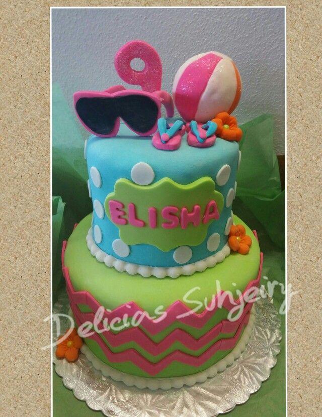 Cake de playa