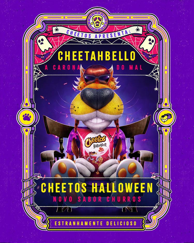 Cheetos Halloween Contest 2020 CHEETOS HALLOWEEN   Caio Stucchi Zucchi in 2020   Cheetos