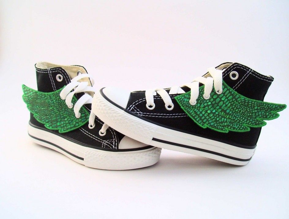 converse shoes black and white template of leprechaun movies