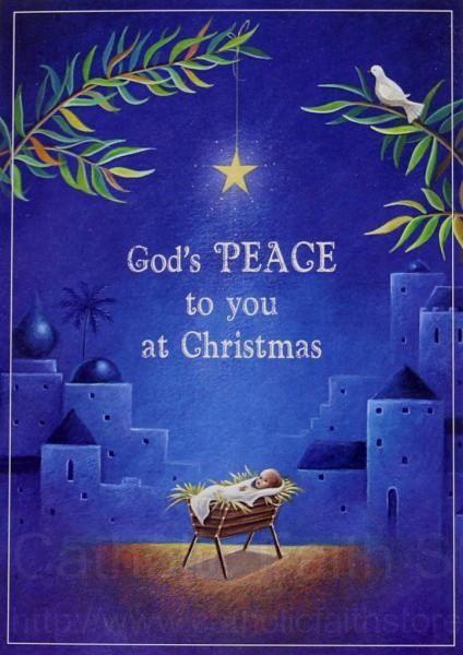 gods peace christmas card box set abch076