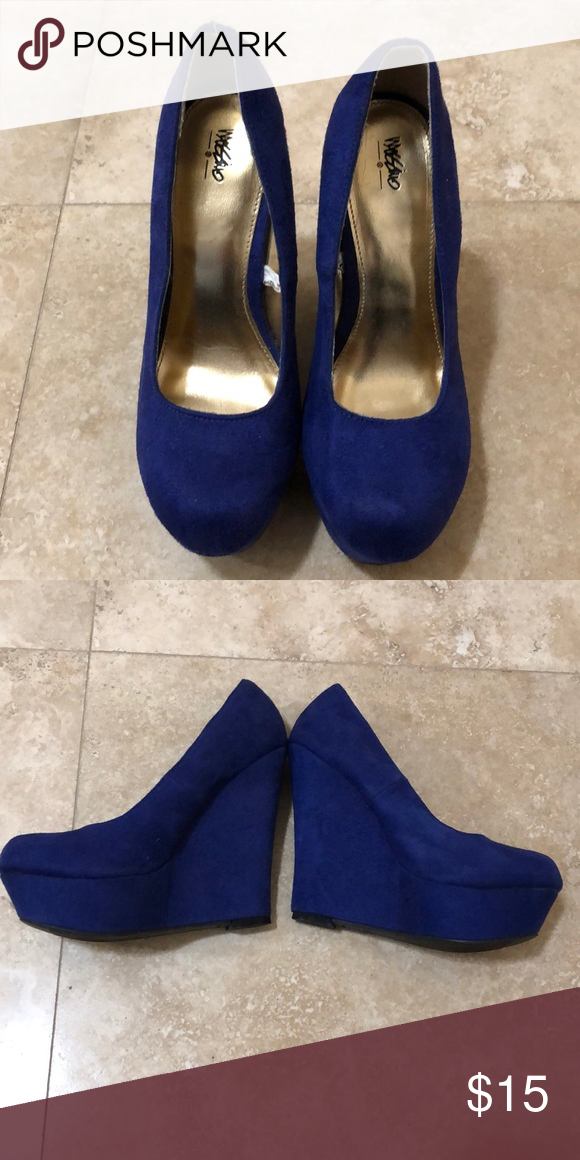 d741987806f Mossimo (from Target) Women s Blue High Heels Mossimo Women s Blue High  Heels. Size 6.5. Like New. 5 inches tall. From Target. Mossimo Supply Co.  Shoes ...