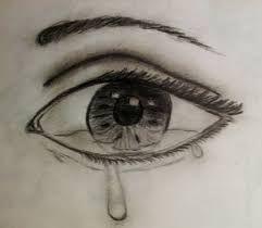 Resultado De Imagen De Dibujo De Ojos Llorando Para Pintar