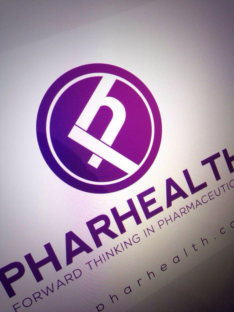 Pharhealth New Pharmaceutical Company I Have Designed Their Branding And New Corporate Brochure Retail Logos Logo Design Branding