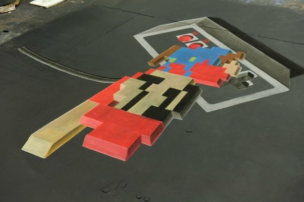 That Looks Hard: Amazing Super Mario 3D Art Broken Down In Time Lapse Video | WebProNews