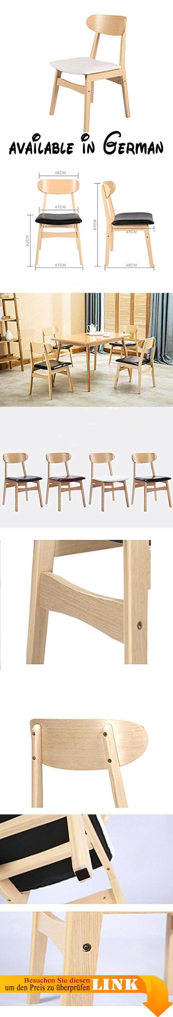 B078RKQ5FP : Nimm einen Stuhl Esszimmerstühle Massivholz Stühle ...