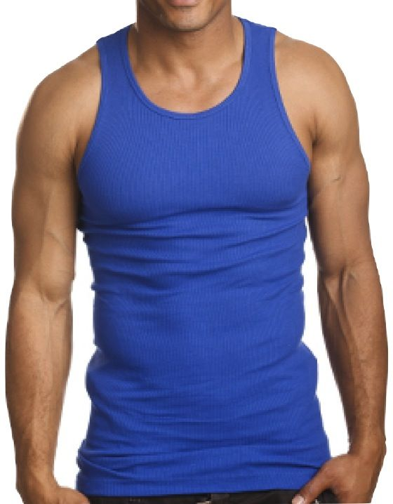 c19f38d504 Top Quality 100 Premium Cotton Mens A Shirt Wife Beater Ribbed Tank Top  Muscle | eBay - $3.95