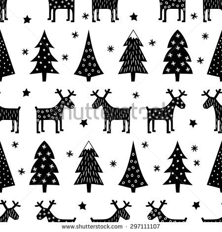 Scandinavian Christmas Stock Photos Images Pictures Christmas Pattern Christmas Doodles Retro Christmas