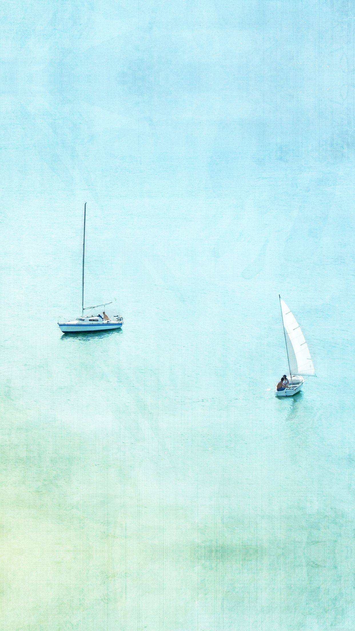 Recreational Boats Watercolor Painting Iphone 6 Plus Hd Wallpaper