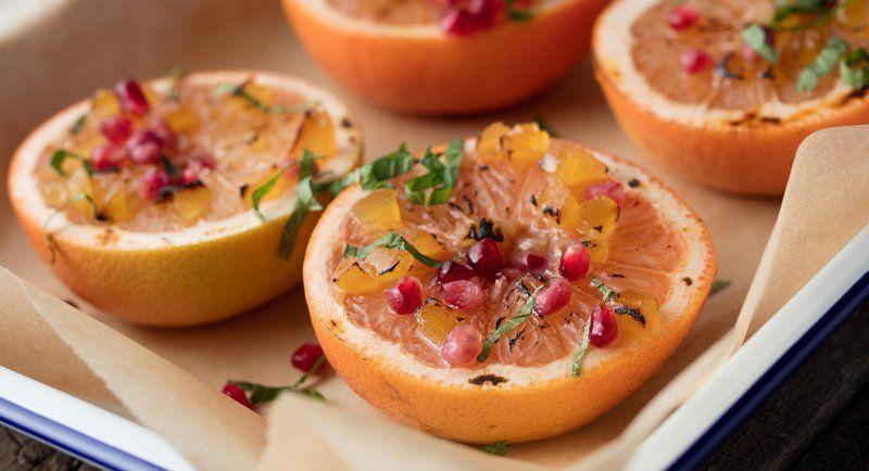 craving creme brûlée  honey recipes broiled grapefruit